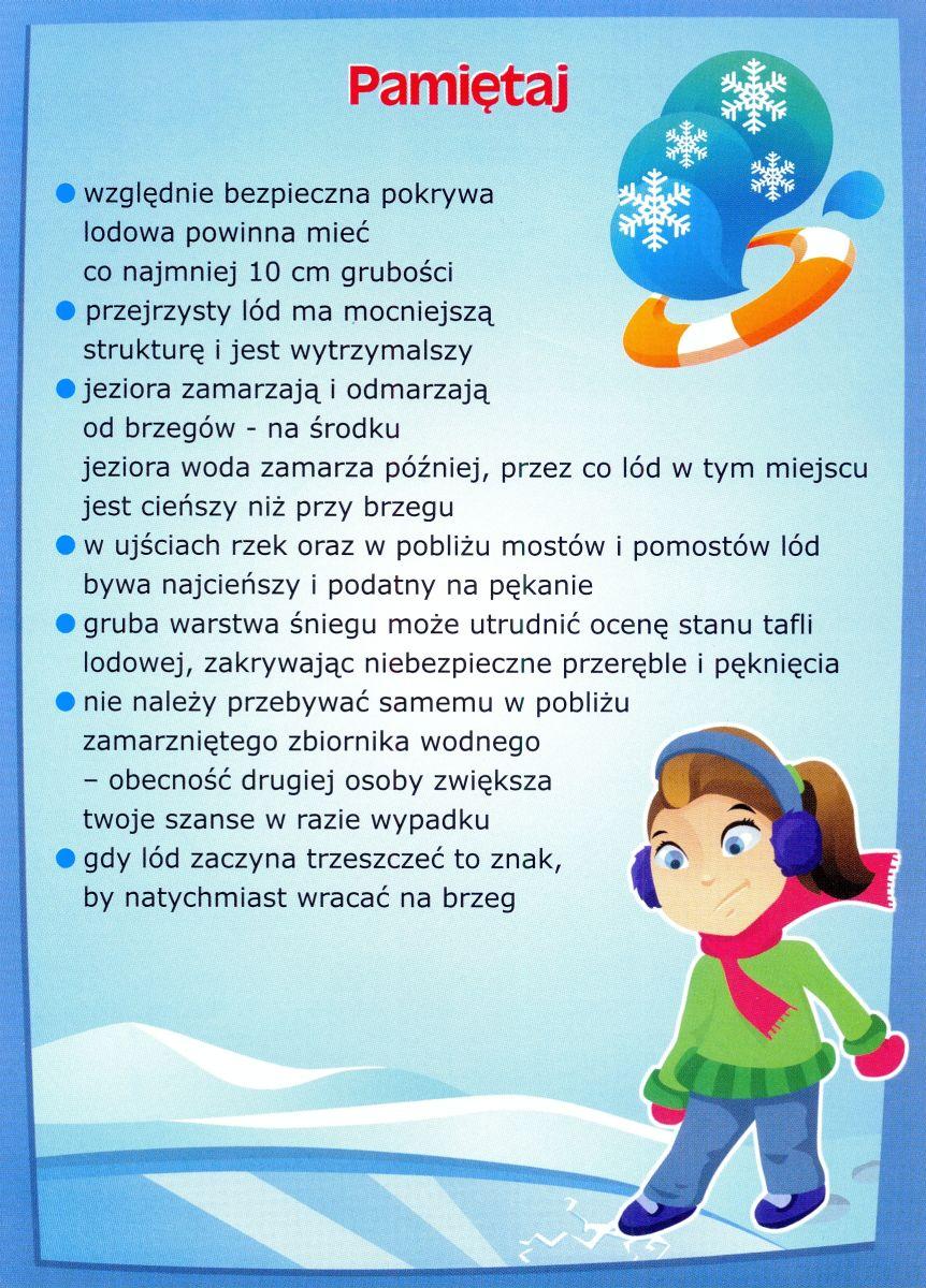 Gmina Wierzbinek - Bezpieczeństwo w trakcie ferii zimowych